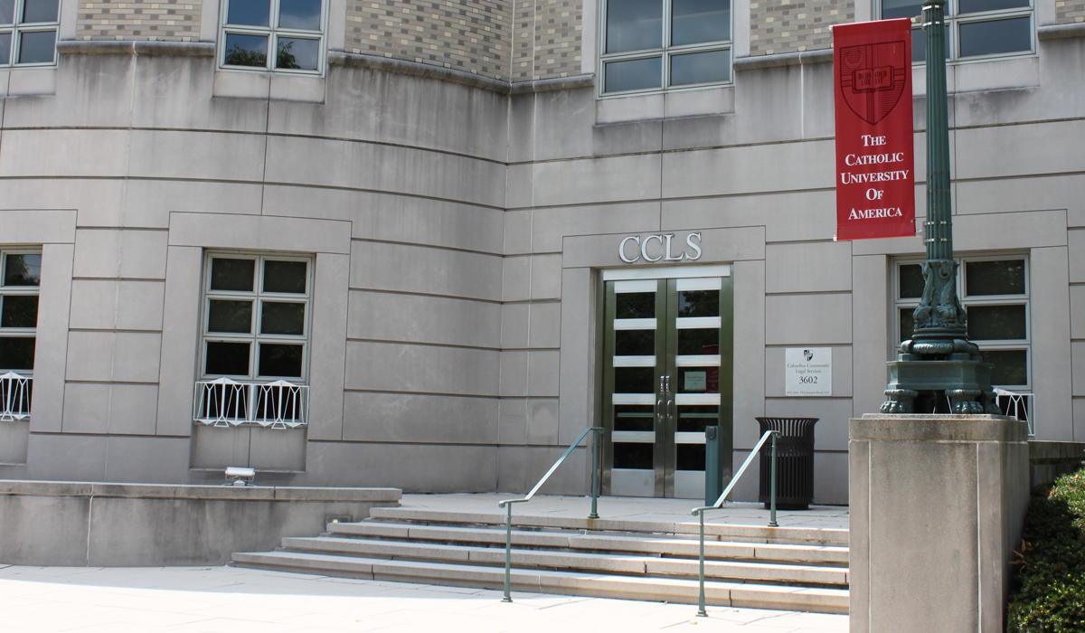 entrance to CCLS in 2013