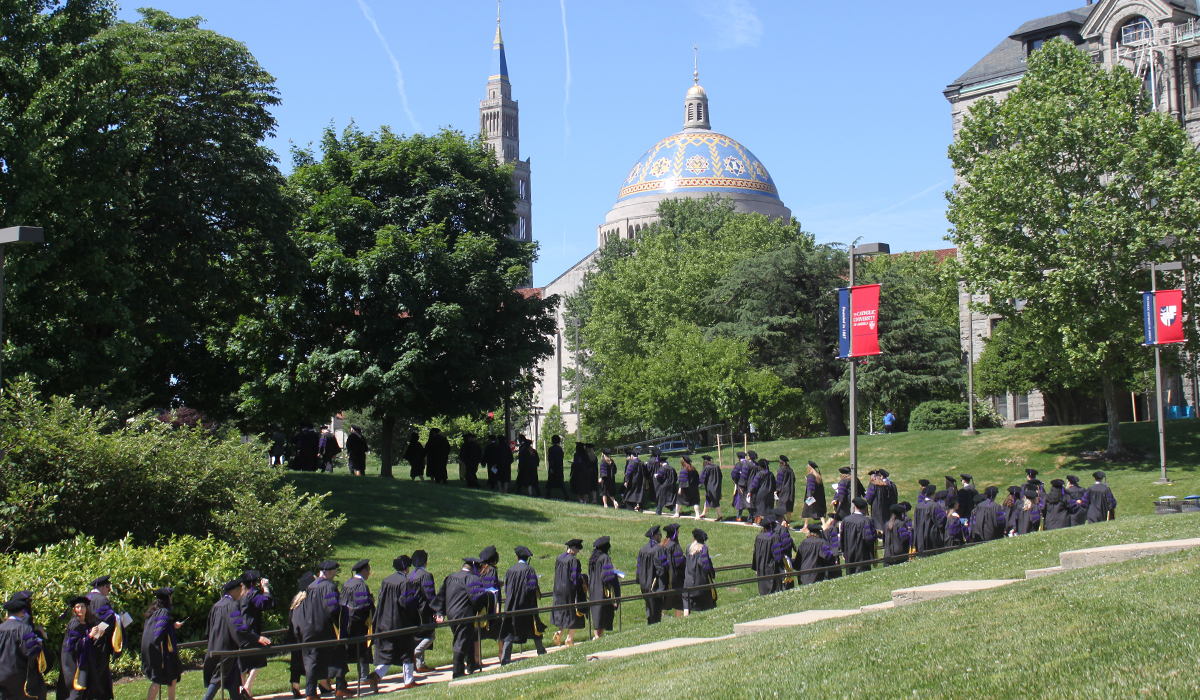 Catholic Law's Commencement March