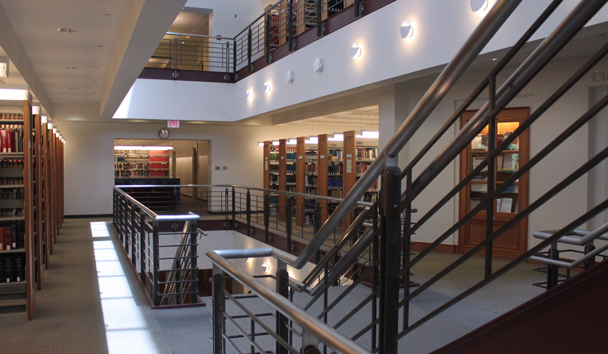 The Law School's Judge Kathryn J. DuFour Law Library
