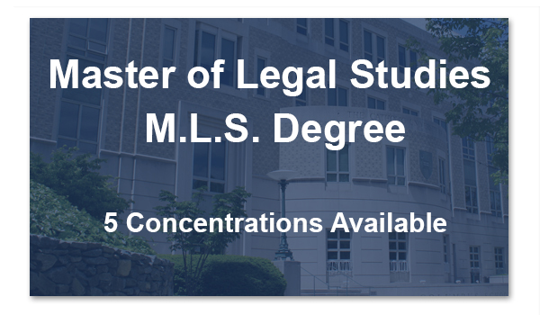 Master of Legal Studies Degree MLS
